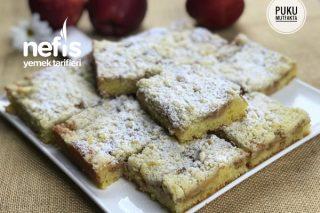 Elmalı Kırıntı Kek (Apfel Streusel Kuchen) Tarifi