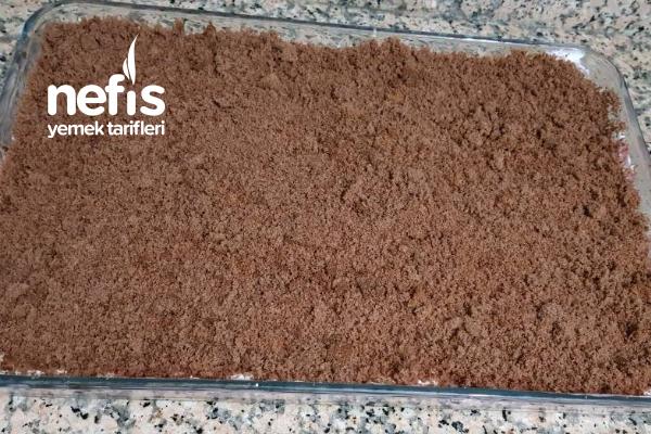 Kakaolu Muhallebili Pasta(Büyük Borcam) Tarifi