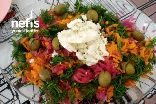Ne Bulduysan Koy Salatası Tarifi