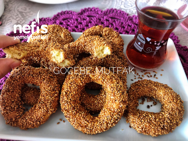 Pastane Lezzetinde Kandil Simidi