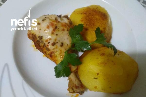 Yağsız Tavuk Patates Enfess Tarifi