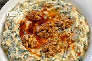 Yoğurtlu Havuçlu Ispanak Salatası Tarifi