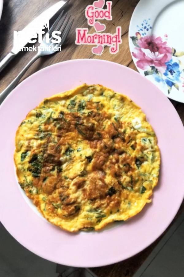 Maydanozlu, Beyaz Peynirli Börek Tadinda Omelett ( Kahvaltilarin Vazgecilmezi)
