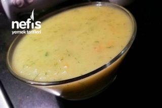 Sebzeli Kabak Çorbası (8+) Tarifi