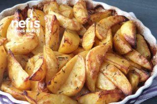 Kahvaltılık Fırında Baharatlı Patates Tarifi