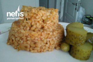 Sebzeli Baharatlı Bulgur Pilavı Tarifi