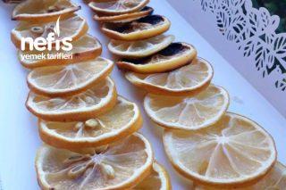 Kurutulmuş Limon Tarifi