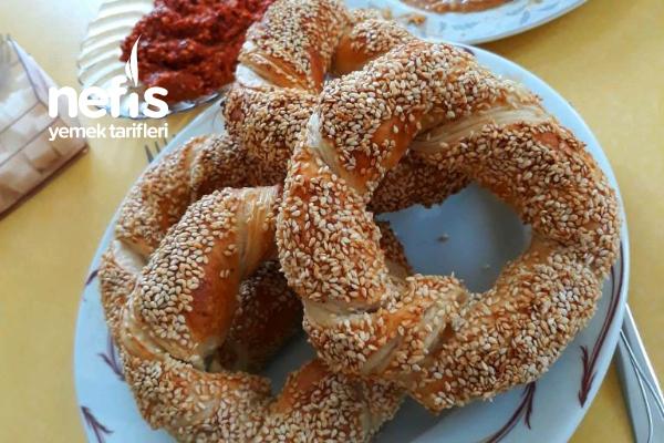 Milföy Simit (Çıtır Çıtır) Tarifi
