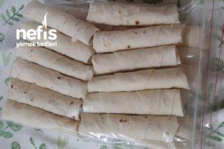 Patatesli Sigara Böreği Dondurucuda Tarifi