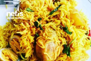 Chicken Biryani (Hindistan Mutfağı) Tarifi