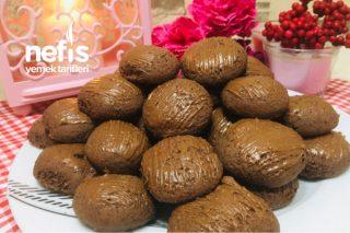 Çikolatalı Pudingli Bayatlamayan Ve Ağızda Dağılan Kurabiye (Videolu) Tarifi