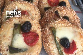 Mini Simit Pizza Tarifi