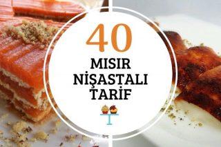 Mısır Nişastalı En Güzel 40 Tarif Tarifi