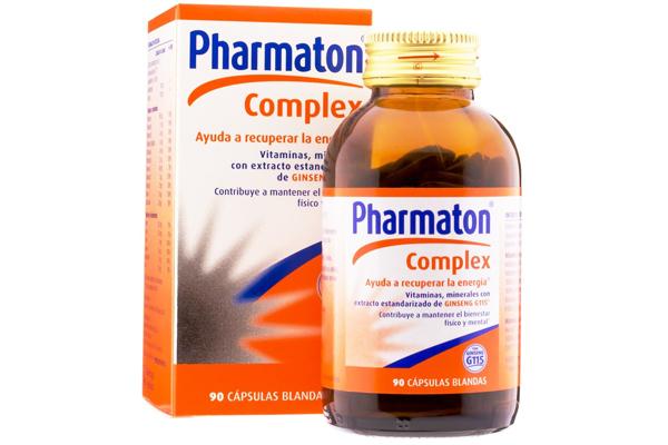 pharmaton içeriği