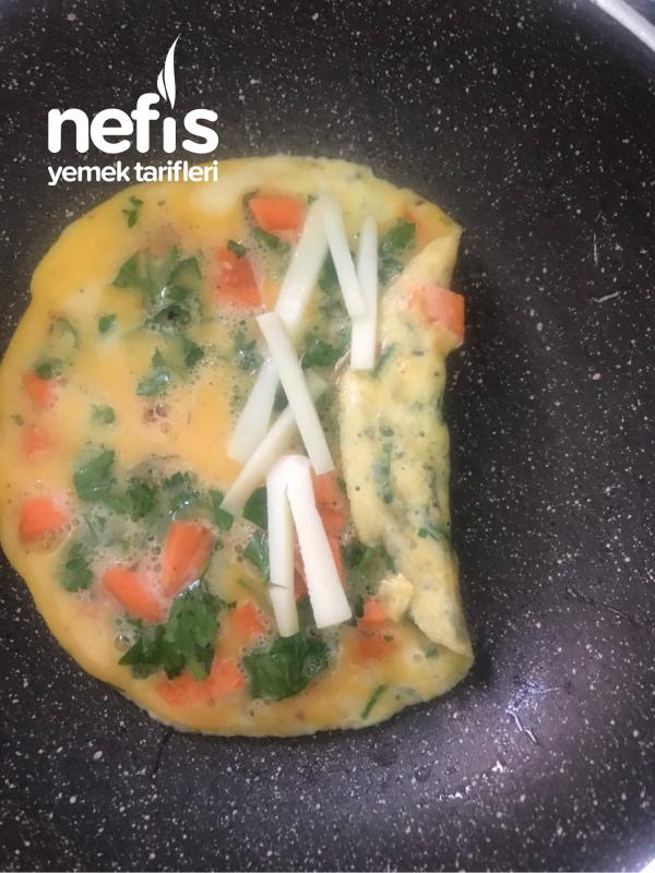 Sağlıklı Egg Roll (Yumurta Rulosu)