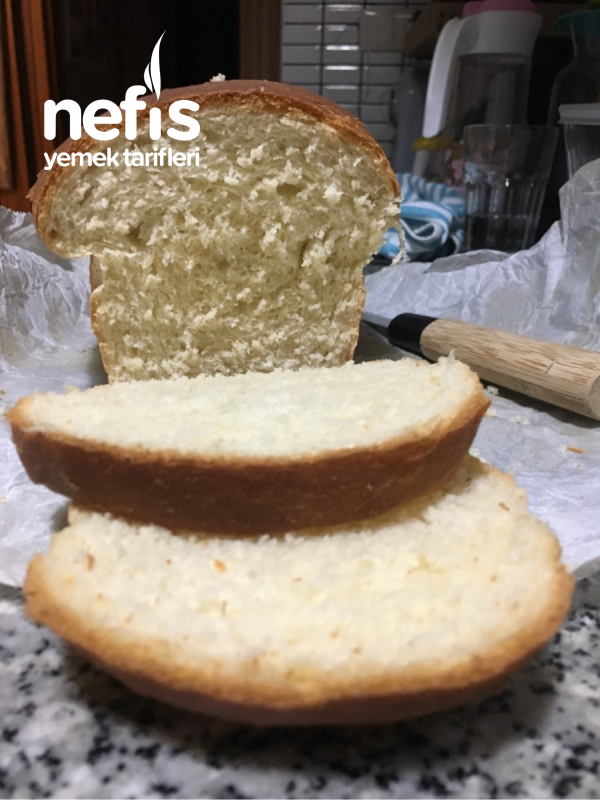 Pamuk Gibi Tost Ekmeği