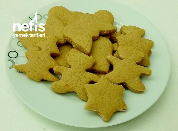 Zencefilli Kurabiye (Gingerbread Cookies)