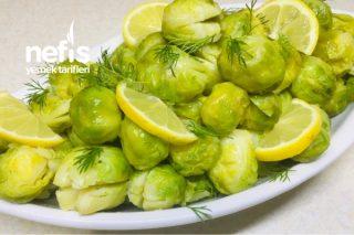 10 Dakikada Püf Noktalarıyla Nefis Brüksel Lahana Salatası Tarifi