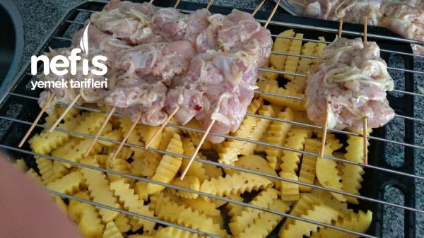 Fırında Sebzeli Tavuk Izgara