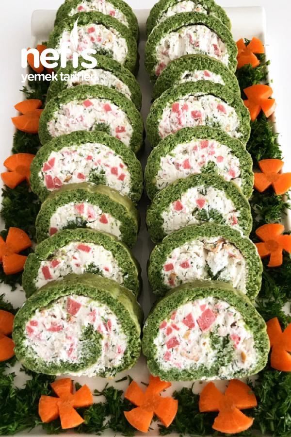 Ispanaklı Rulo Salata