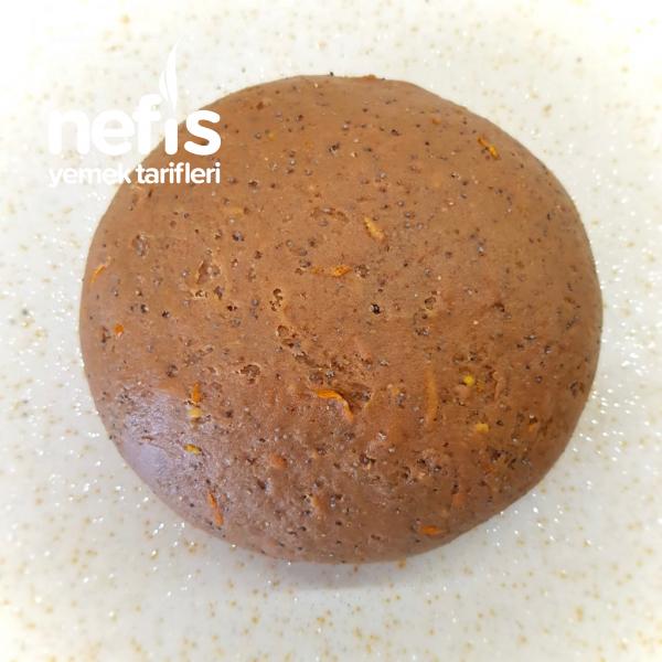 Kakaolu Haşhaşlı Portakallı Kurabiye (Katı Yağsız)
