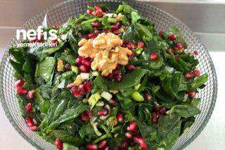 Narlı Cevizli Ispanak Salatası Tarifi