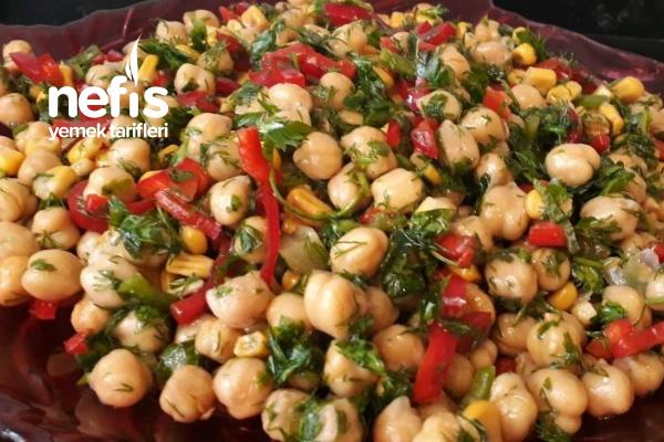 Nohut Salatası (Yiyenlerin Tekrar Tekrar İstediği)