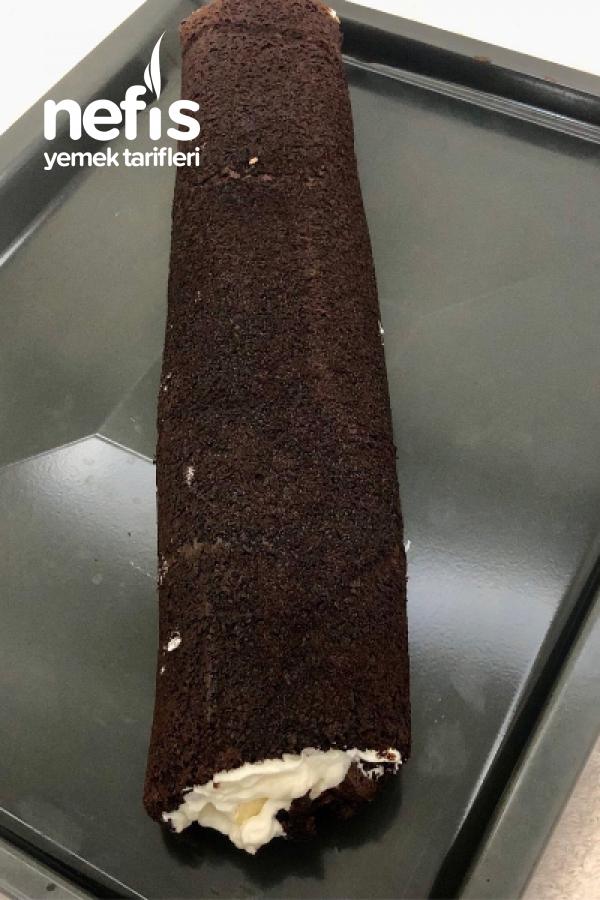 Süt Dilimi Rulo Pasta