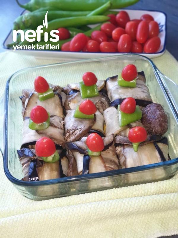 Az Kalorili Köfteli İslim Kebabı