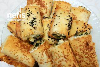 Ispanaklı Peynirli Çıtır Çıtır Börek (Videolu) Tarifi