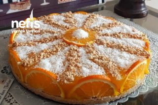 Portakal Pelteli Prenses Tatlısı Tarifi
