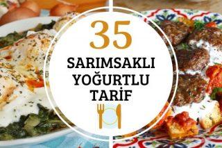 Sarımsaklı Yoğurtlu 35 Çeşit Tarif Tarifi