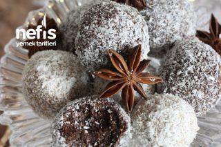 Tahinli Çikolata Topları (4 Malzemeli) Tarifi