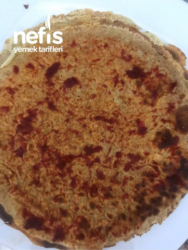 Pizza İçerikli Krep