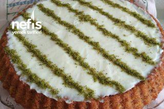 Tart Kalıbında Kadayıflı Kek Tarifi