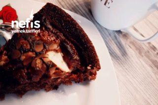 Elmalı Çikolata Tadında Pamuk Kek Tarifi