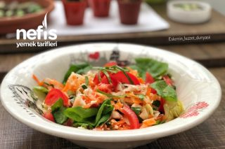 Enfes Kış Salatası (Değişik bir lezzet) Tarifi