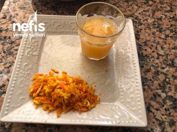 Portakal Ve Damla Çikolatalı Kurabiye