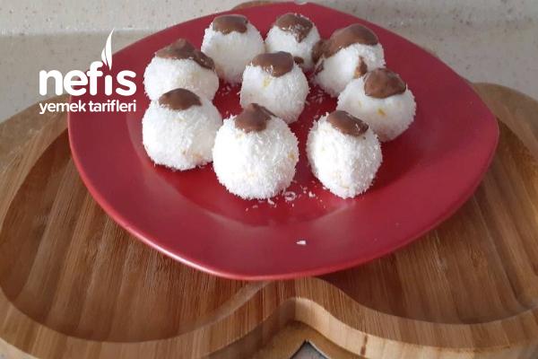 4 Malzemeyle Fit Kar Topları (Videolu)
