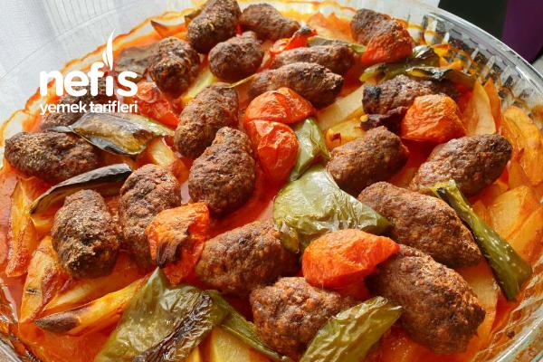 Fırında Sebze Köfte (Hazırlaması 10 Dakika)