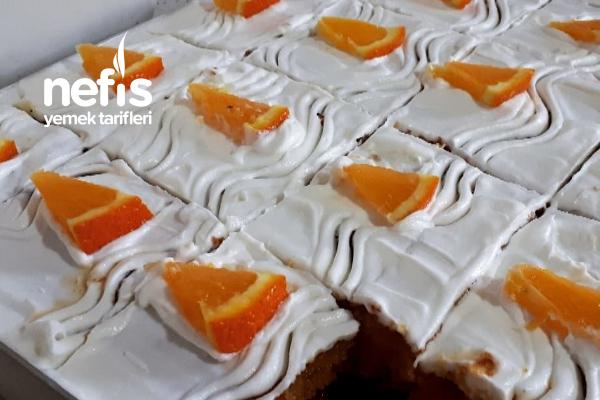 Tam Ölçülü Portakallı Revani (Büyük Tepsi İçin)