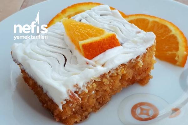 Tam Ölçülü Portakallı Revani (Büyük Tepsi İçin) Tarifi