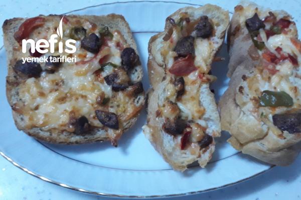 Kahvaltılık Çıtır Ekmekler Tarifi