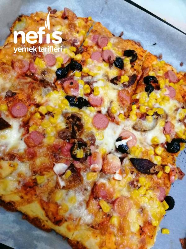 Mayasız Şipşak Pizzam