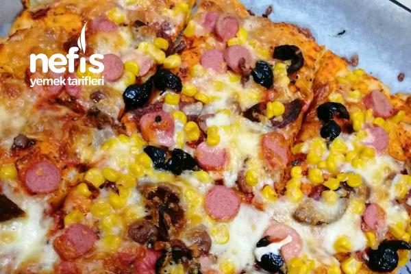 Mayasız Şipşak Pizzam Tarifi