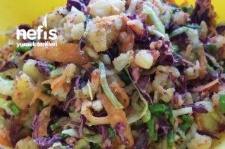 Patates Piyazı (Her Şeyin Yanına Yakışan Salata) Tarifi