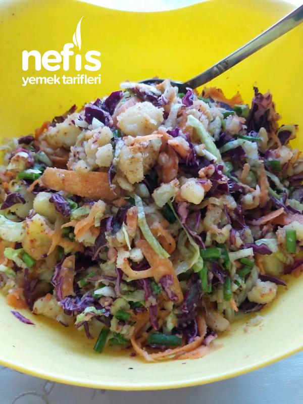 Patates Piyazi(her Şeyin Yanına Yakışan Salata)