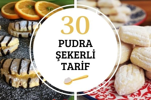Pudra Şekerli 30 Muhteşem Tarif Tarifi