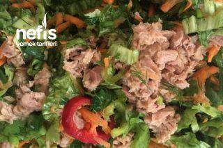 Ton Balıklı Doyurucu Salatam Tarifi