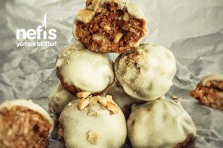 Beyaz Çikolatalı Elmalı Truff Tarifi